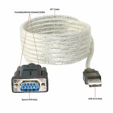 Sabrent USB 2.0 TO SERIAL 9-PIN DB-9 RS-232 ADAPTER 2M CABLE SBT-USC6K @ Sydney