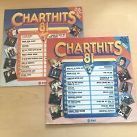 Chart Hits 81 Vinyl LP 2 Record Set.1981 K Tel NE 1142.Madness/ABBA/Toyah/UB40+