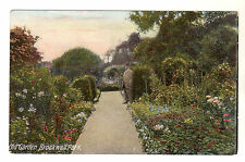Old Garden - Brockwell Park Photo Postcard c1910 / Lambeth