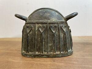 Antique Bronze Burma Burmese Buffalo Bell Tribal Art