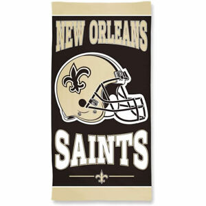 """Officially Licensed NFL New Orleans Saints Beach Towel, 30"""" x 60"""""""