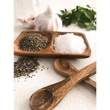 Acacia Salt and Pepper Wooden Dish
