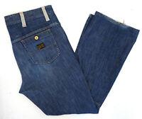 G-Star Herren Men Jeans HoseComwood Safety Low Bootcut W36 L32 stonewashed C129