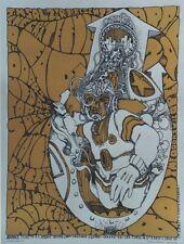 """""""THE DOORS /GRATEFUL DEAD"""" Affiche US originale entoilée Jim SALZER 1967 48x62cm"""