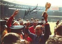 ENGLAND 1966 WORLD CUP FINAL WEMBLEY ALF RAMSEY SIGNED (PRINTED)