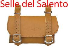 BORSA 3PELLE BORSELLO BICI BICICLETTA SOTTOSELLA VINTAGE Leather Tools Bags Bike