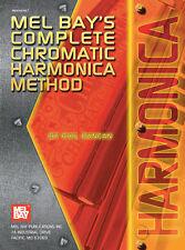 Complete Chromatic Harmonica Method Book New