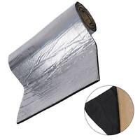 50*200CM 10mm Roll Car Foam Mat Sound Proofing Deadening Insulation Heat Pads UK