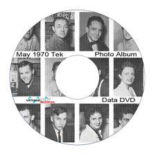 Tektronix Employee Photo Album on DVD - employees up to 1970