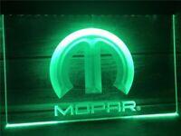 Mopar LED Neon Light Sign Bar Club Pub Advertise Home Decor Gift Man Cave Garage