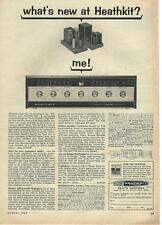 1964 Heathkit AR-13 Stereo FM Receiver Ad/Benton Harbor, MI