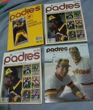 San Diego Padres, 1979, 1980 (2) and 1983 Yearbooks, Most Clean