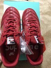 SUPREME/Nike SB Gato Red Gum Size 9 - NIB!