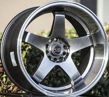 One 18x12 Rota P 45R3 5x114.3 +20 Royal Hyper Black Wheel