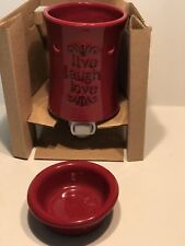 Tuscany Plug-In Warmer Live/Laugh/Love Fragrance Warmer  New W/wax Bar