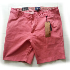 """VISITOR Men Size 36 Premium Shorts Nantucket Red Stretchable 9"""" inseam 20"""" long"""