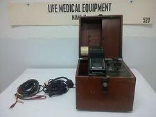 Cambridge Instrument Simpli-Scribe Electrocardiograph Portable ECG Unit | RARE '