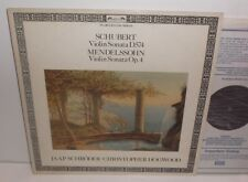 DSLO 571 Schubert &Mendelssohn Violin Sonatas Jaap Schroder Christopher Hogwood