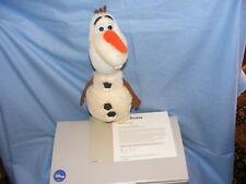 Steiff Disney Olaf De Frozen Bonhomme de Neige 354571 Édition Limitée Tout Neuf