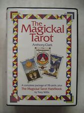 More details for magickal tarot cards & book by anthony clark aleister crowley thoth based pack
