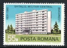 SELLOS TEMA MEDICINA. RUMANIA  1981 3348 1v.  HOSPITALES