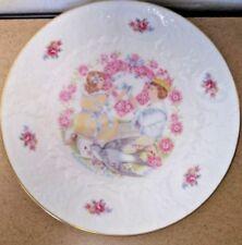 "1977 Vintage Royal Doulton Valentine's Day Bone China Plate 8 1/3"""