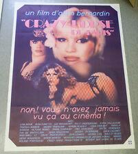 Affiche de cinéma : CRAZY HORSE DE PARIS d'Alain BERNARDIN