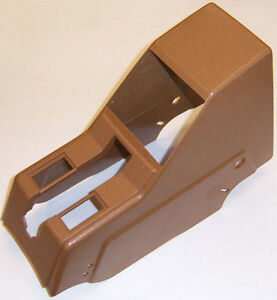VOLVO 240 center console ebrake cover parking brake cover BEIGE arm rest 1373617