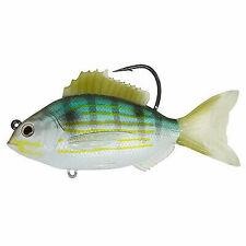 "Koppers Livetarget Swmbait Saltwater Lure Pinfish 3.5/"" Silver Green PFS93MS719"