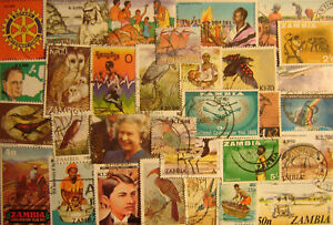 Zambia 100 Different Used