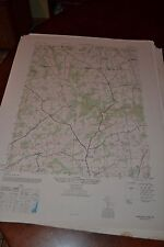 1940's Army topographic map Norrisville Maryland Pa -Sheet 5663 Ii Ne