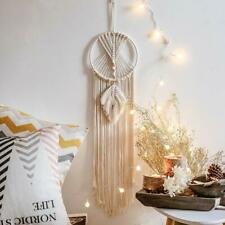 Boho Tapestry Dream Catcher Macrame Wall Hanging Woven Feather Decor Wedding