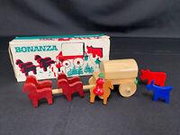 Antique Schowanek Wooden Toy Set Bonanza W/Original Box! Made In Germany