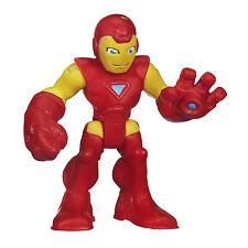 2 X Marvel Super Hero Adventures Figure Hulk & Iron Man - Playskool/hasbro