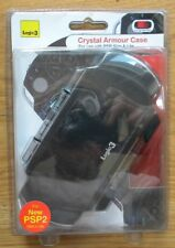 CRYSTAL ARMOUR CASE LOGIC 3 FOR PSP SLIM & LITE NERO NUOVO