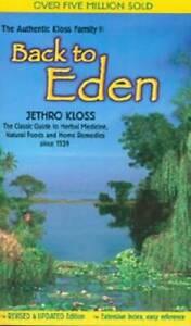 Back To Eden - Paperback By Kloss, Jethro - GOOD