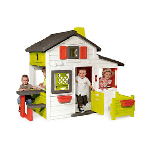 Smoby NEO Friends Play house | Kids Playhouse Indoor Outdoor Garden Toy From 2+