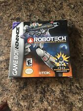 Robotech: The Macross Saga Nintendo Game Boy Advance BOX ONLY NG4