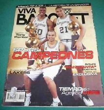 MANU GINOBILI NBA Champion 2003 Rare VIVA BASQUET Magazine - Argentina