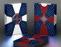 Oculus Playing Cards Optical Illusion Rare Limited  Cardistry Deck like Bicycle