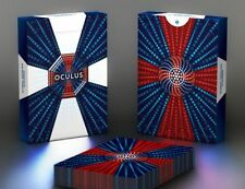Oculus Playing Cards 3D Optical Illusion Pro Rare Limited Custom Cardistry Deck