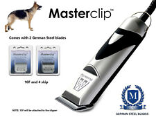 Pastore tedesco cane Professionale Clippers Trimmer Set con lame masterclip