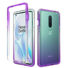 For OnePlus 8 5G Full-Body Rugged Ultra Transparency Hybrid Protective Case