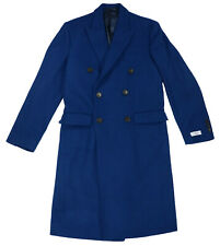 Calvin Klein Men's 36R X Slim Fit Wool Blend Monarch Collection Coat NWT Marine