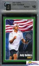 2001 Netpro #1 Andy Roddick Rookie GAI 10 Perfect