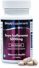 Isoflavoni di soia 5000 mg - 120 Compresse - SimplySupplements