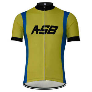 ASB cycling Short Sleeve Jersey mens team ASB Cycling Jersey