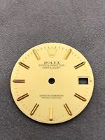 Rolex genuine Dial Datejust 68273 Gold dial 0615015