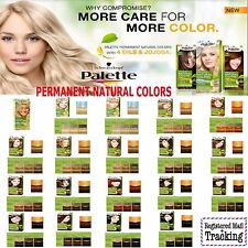 SCHWARZKOPF PALETTE PERMANENT NATURAL HAIR COLORS 19 DIFFERENT SHADES, CHOOSE