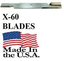 "60 USA MADE BLADES 52"" SCAG, GRAVELY 18"" X 5/8"" 482878 482462 481707 48108 BULK"